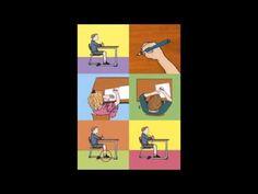 Dit is het schrijflied van de methode Karakter. Primary Education, Primary School, Pre School, Work Inspiration, Occupational Therapy, Spelling, Activities For Kids, Teaching, Writing