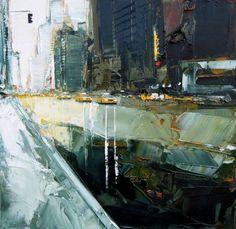 urban painting by Daniel Castan