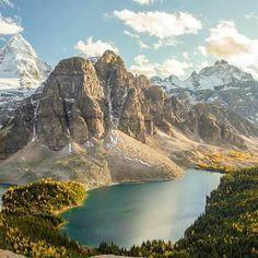 Monte Assiniboine - Columbia Británica - Canadá