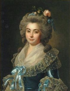 Portrait of a lady, late 18th century, follower of Marie Louise Ėlisabeth Vigée Le Brun (French, 1755-1842)