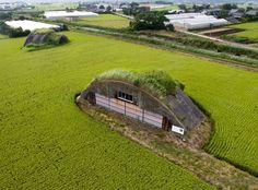 日本農業新聞|戦争の証し 風化させぬ 旭市にある掩体壕