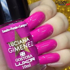 Outro click desse pink maravilhoso da @lucianagimenez para @luxoroficial ✨ Para comprar acessem: @candyacessorios @candyacessorios @candyacessorios #blogger #bloggers #fashion #fashionbloggers #nails #nailpolish #nails2inspire #deesmalte #dicasdeunhasbr #viciadaemvidrinhos #esmalte #esmaltes #esmaltedasemana #esmaltedodia #unha #unhas #unhasdecoradas #unhasperfeitas #unhasdasemana #unhasdebarbie #garotasesmaltadas #instadeunhas #instaunhas #amoesmaltes #lucianagimenez #candyacessorios