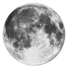 """Full moon 10"""" melamine dinner plate"""