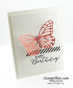 stampin up butterfly basics | Stampin' Up! Butterfly Basics Stamp fo the Month Class