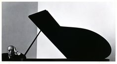 Igor Stravinsky, Russian Composer, Pianist and Conductor, 1946, by Arnold Newman