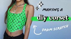 Corset Sewing Pattern, Sewing Patterns, Sewing Tutorials, Diy Clothing, Sewing Clothes, Corset Tutorial, Diy Corset, Diy Fashion Projects, Diy Vetement
