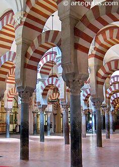 Mezquita de Córdoba. Arquerías de Almanzor