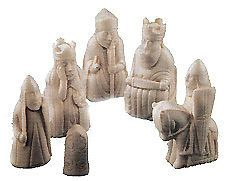Lewis Chess Pieces - Mold Set used by Ron in Harry Potter & Sorcerers Stone