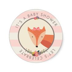 Fox Girl Baby Shower