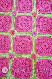 Ravelry: Melon Berry Rug pattern by Susan Carlson