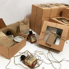 Rustic gift box | Kraft window box | mini mason jar | twine | mini knob creek | gifts for him | mishloach manot   | Kraft tags | custom gift boxes | Barbona gifts