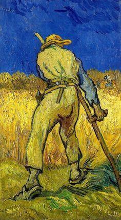 Vincent van Gogh, The Reaper (after Millett), September, 1889