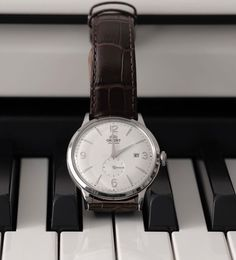 Let go of the past, play your future. ⌚: RA-AP0002S10A Orient Watch, Contemporary Classic, Roman Numerals, Stainless Steel Case, Play, Watches, Future, Switzerland, Future Tense