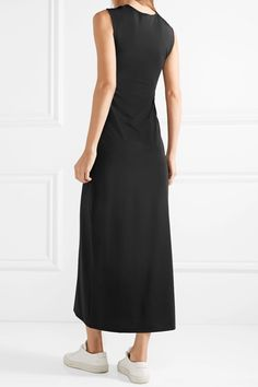 Classic Cheap Online Manchester For Sale Twist-front Stretch-jersey Midi Dress - Black Theory Pfh6ETG