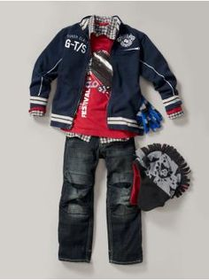 love the layers for this boy outfit, not sure if my son would like but I love it