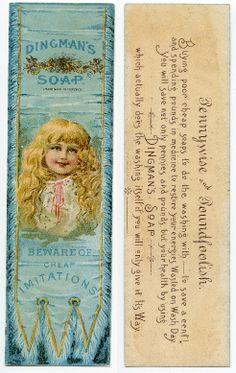 Dingman's Soap c1880's