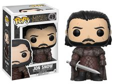 GAME OF THRONES FUNKO POP JON SNOW BEYOND THE WALL SEASON 7 BNIB VINYL