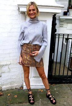 Mini skirt envy