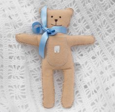 If I was a child again... Personalised Tooth Fairy Pocket Bear