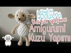 Häkelschaf Teil * Tutorial * Crochet Sheep [eng sub] Crochet Sheep, Crochet Dolls, Free Sewing, Free Knitting, Baby Towel, Crochet Bracelet, Tunisian Crochet, Chain Stitch, Amigurumi Doll