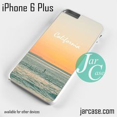 Caifornia Beach Phone case for iPhone 6 Plus and other iPhone devices
