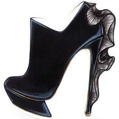 Nicolas Kirkwood: Sexy -Fierce. via wsj #Shoes #Heels #Nicholas_KIrkwood #wsj