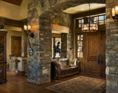 Love the front door and entry!