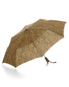 Bloomingdale's Cheetah Print Umbrella