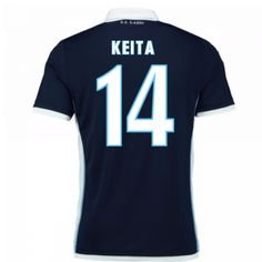 SS Lazio 2016/17 Away Soccer Shirt #14 Keita