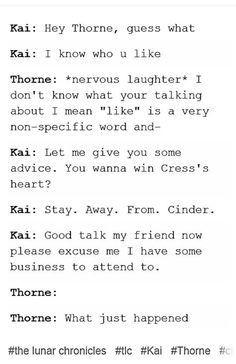 Jealous Kai is my new fav thing #tlc | Text Post |