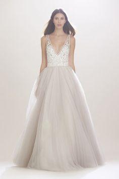Carolina Herrera Bridal Fall 2016. See all the best looks from Bridal Week here: