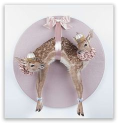 The Strange Taxidermy Art by Les Deux Garcons Conjoins Animals #Art trendhunter.com