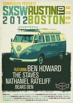 SXSW 2012 Posters