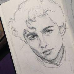 Pencil Art Drawings, Cool Art Drawings, Art Drawings Sketches, Sketch Drawing, Sketches Of Boys, Drawing Of A Boy, Drawings Of Faces, Sketching, Boy Sketch