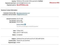 Clixsense Payment No22   http://bestptcsites.biz/