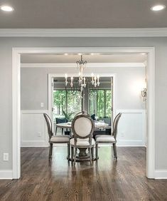 Jaw Dropping Total Home Renovation Project Interior Paint Colors, Paint Colors For Home, Interior Painting, Home Renovation, Home Remodeling, Sherwin Williams White, Light Grey Paint Colors, Neutral Paint, Kitchen