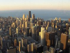 """Photo of downtown Chicago, Illinois. Credit: Adrian104; Wikimedia Commons. Read more on the GenealogyBank blog: """"Illinois Archives: 357 Newspapers for Genealogy Research."""" http://blog.genealogybank.com/illinois-archives-357-newspapers-for-genealogy-research.html"""