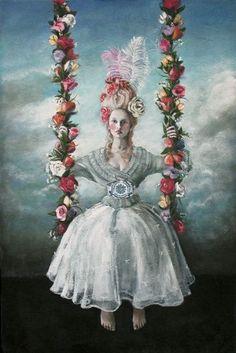 Artwork by Sydney artist Tania Wursig.