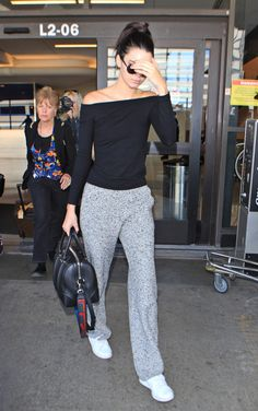 Kendall Jenner at Lax, October 30, 2015.