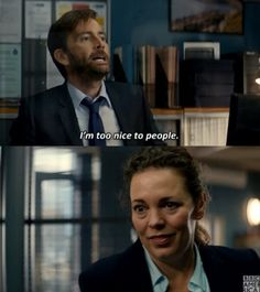 "Gefällt 1,834 Mal, 26 Kommentare - BBC America (@bbcamerica) auf Instagram: """"You know what I realize, Miller?"" #Broadchurch"""