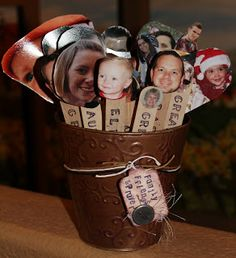 Prayer Sticks Popsicle With A Picture Of Family Member Or Friend Each Day