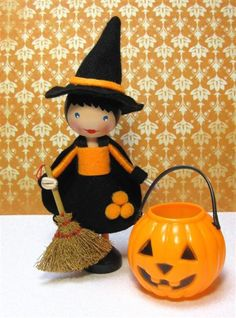The Little Halloween Witch (sold) | Flickr - Photo Sharing!