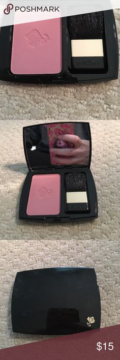 Lancôme Blush So cute and it is super pretty on your skin! Never used💕 Lancome Makeup Blush