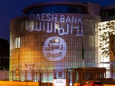"Human-rights activists have projected the Isis flag and the phrase ""Daesh bank"" onto the side of the Saudi embassy in Berlin.  The ""guerrilla light project"" was organised by artist Oliver Bienkowski, who wanted to highlight the country's relationship with the extreme Islamist movement and its much-criticised human rights record.  Saudi Arabia has been accused of indirectly creating Isis through the propagation of its fundamentalist Wahhabist interpretation of Islam."