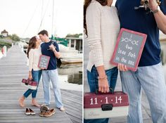 "RENAE!!! This is for you! Katelyn James shot this super-duper cute ""fishing"" engagement!"