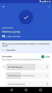 Google Classroom- screenshot thumbnail
