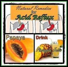 Acid Reflux and Heartburn Natural Remedies