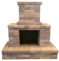 Semplice Outdoor Fireplace Kits