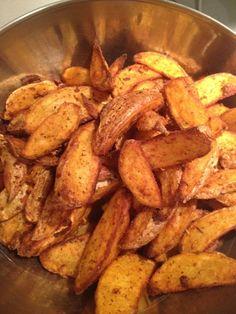 Potatoes ou pomme de terre épicées à l'actifry (ou pas)
