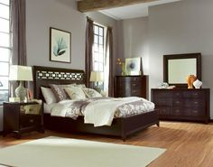 Furniture California King Size Bedroom Furniture Sets Entrancing King Design Ideas With Dark Brown Color Wooden Bed Frames And High Headboard Also Combine White Silky Silver Colors Covered Bedding She